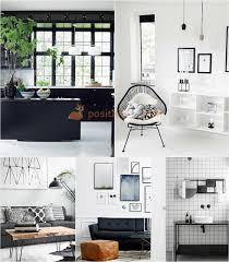 black and white interiors interior design trends in 2017 2018 photos with best examples