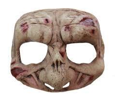 Zombie Mask Zombie Half Mask Masks