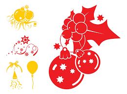 christmas decorations graphics vector art u0026 graphics freevector com
