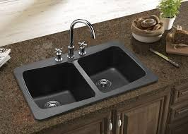 kitchen sinks and faucets designs kitchen amazing black kitchen sinks and faucets composite