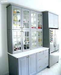 upper cabinets with glass doors kitchen burrows cabinets central builder direct glass upper cabinets
