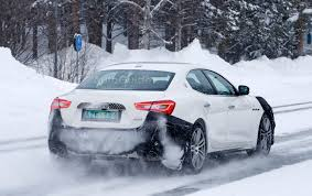 maserati snow facelifted maserati ghibli spied winter testing in sweden