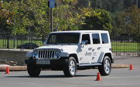 driving a jeep wrangler driving the jeep wrangler ev can eco and trail co