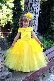 yellow flower girls dress birthday wedding party holiday
