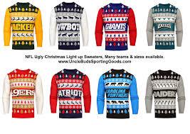 raiders light up christmas sweater nfl mens light up ugly christmas sweater ebay