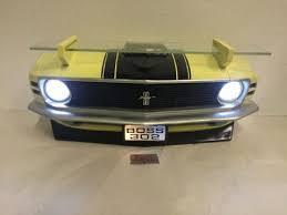 Mustang Boss 302 Black Yellow U0026 Black Ford Mustang Boss 302 Car Wall Shelf R U0026w Speed Shop