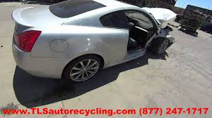 parting out 2008 infiniti g37 stock 5093or tls auto recycling