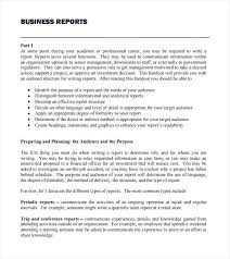 conference report template free report template word business report template free