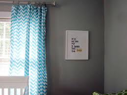 baby blue nursery curtains ideas