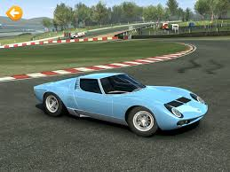 lamborghini miura race car racing 3 accidentally updated in the us with