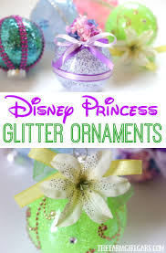 disney princess glitter ornaments the farm gabs