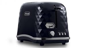Toasters Delonghi Delonghi Brillante 2 Slice Toaster Gloss Black Toasters