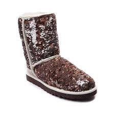 womens ugg plumdale boots shop for womens ugg sparkle boot in chagne at