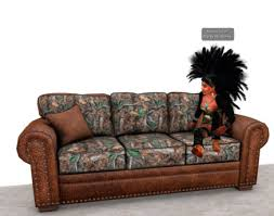 second life marketplace camo sofa or couch chair and ottoman