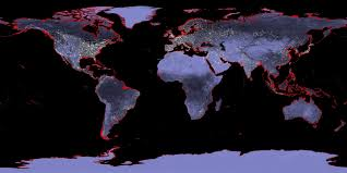 Map Of The Seas In The World by Humans Caused Nearly 90 Percent Of Sea Level Rise From Warming Of