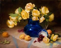 Robbins Flowers - robbins still life artist