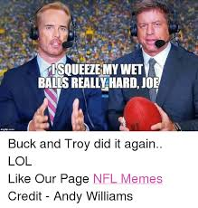 Joe Buck Meme - imglipo coma isqueelemy wet balls realllhard joe buck and troy did