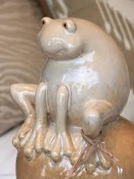 frogville ornamental frogs ceramic