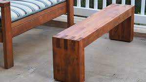 modern outdoor bench 8 steps with pictures