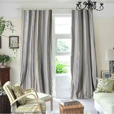 Black And White Blackout Curtains Classic Blackout Modern Gray Striped Curtains