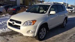 lexus owned by toyota pre owned white 2009 toyota rav4 4wd 4dr v6 limited lexus of