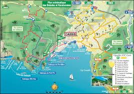 Map Of La Area Cassis Area Map