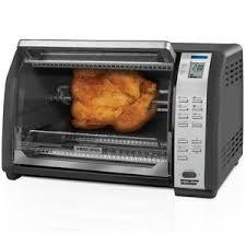 Black Decker 6 Slice Toaster Oven Black U0026 Decker 6 Slice Convection Toaster Oven With Rotisserie