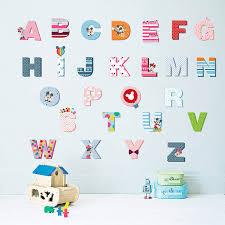 lettre decorative pour chambre b mickey mouse 26 anglais lettres enfants bébé grandir
