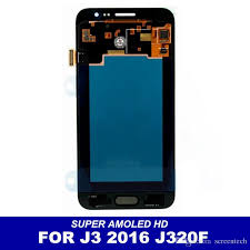 Lcd J3 2018 Amoled Hd Lcd Display For Samsung Galaxy J3 2016 J320