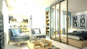 Studio Apartment Partition Studio Apartment Divider Ideas Studio