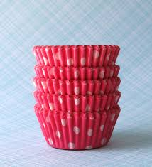 mini pink polka dot cupcake liners pink polka dot baking