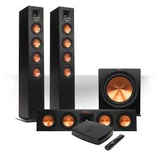 wireless home theater subwoofer amazon com klipsch reference premiere hd wireless 3 1