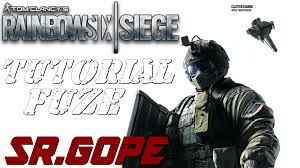 siege en tutorial fuze tom clacy s rainbow six siege en español