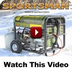 buffalo corp sportsman generators