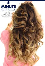 best 25 5 minute curls ideas on pinterest how to beachy waves