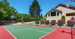 how much does it cost to build a pole barn house how much does it cost to build an outdoor basketball court