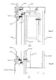 Window Framing Diagram by Patent Us20050284046 Window Framing System Google Patents