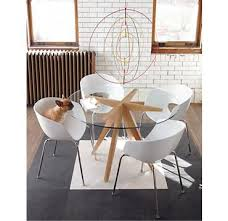 Round Glass Dining Room Table Sets Best 25 Glass Round Dining Table Ideas On Pinterest Glass