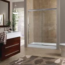 Bypass Shower Door Marina 3 8 Frameless Bypass Shower Door Bn Finish Clear Glass 72