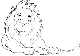 lion kids coloring pages free printable coloring pictures kids