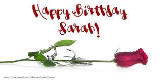happy birthday sarah greetings cards for birthday for sarah