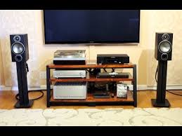 Bookshelf Audio Speakers Monitor Audio Bronze 2 Bookshelf Speakers Sound Demo Rock Youtube