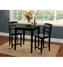 3 piece dining room set 30x30 inch modern farm dining table wood you furniture