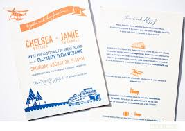 wedding invitations island orcas island wedding iwonak direction graphic design and more