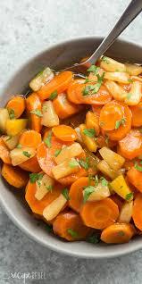 thanksgiving crock pot recipes slow cooker pineapple glazed carrots recipe