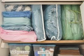 super organized bathroom linen closet heartworkorg com