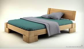 chambre adulte en bois massif lit en bois massif design pour chambre adulte veron