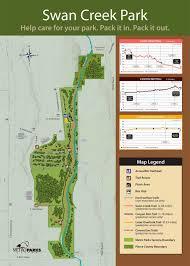 Seattle Bike Trail Map by Tacoma Bike Ranch Swan Creek Mountain Bike Trails In Tacoma