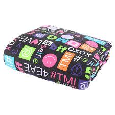 Jersey Comforters Jersey Knit Comforter Black Text Comforters Gilbin Store