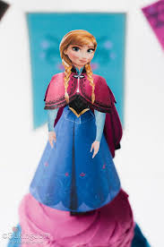 14 frozen anna paper craft images anna paper